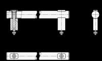 EDELSTAHL-ROHRGRIFF, GESCHLIFFEN 666.1-30-200-NG