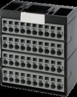 Potenzialklemmenblock grau 56084