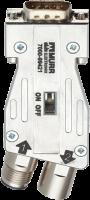 M12/D-Sub Profibus Adapter 180° 7000-99421-0000000