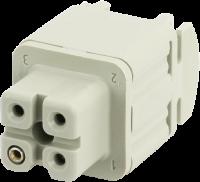 A3 Buchse 3-polig, Schraub, 400 V, 10 A 70MH-EB003-AS02010