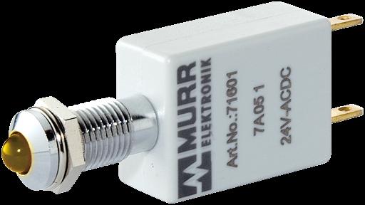 LED-Anzeige gelb 24VDC IP67 Lampentest