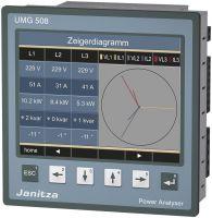 Janitza UMG 508 95-240VAC 80-340VDC 52.21.001