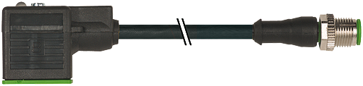 M12 St. ger. auf MSUD Ventilst. BF A 18 mm
