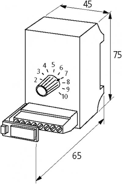 MPOT Potentiometerbaustein