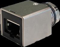 Adapter M12 Bu. X-cod. 0° / RJ45 St. 0° Gigabit 7000-51531-0000000