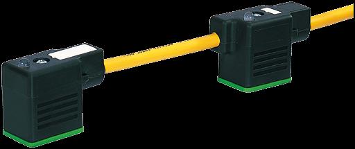 MSUD Doppelventilst. BF B 10mm m. Anschl.-ltg.