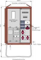 Walther WAV0170 Anschlussverteiler 44kVA WAV0170