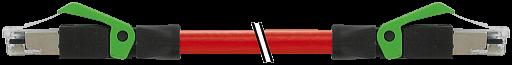 RJ45 St. 0° / RJ45 St. 0° geschirmt Ethernet