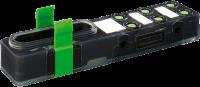Exact8, 6xM8, 3-pol., Grundmodul PNP-LED 8000-86000-0000000