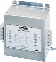 MEF Netzentstörfilter 3-phasig 1-stufig mit N 10575