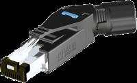 RJ45 Professional Stecker 45° 4pol. geschirmt 7000-74021-0000000