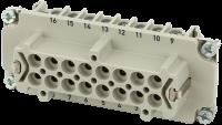 B16 Buchse 16-polig, Schraub, 500 V, 16 A 70MH-EB016-FS03020