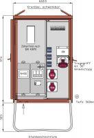 Walther WAV0160 Anschlussverteiler 44kVA WAV0160