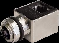 Adapter M12 Bu. X-cod. 0° / RJ45 St. 90° Gigabit 7000-51541-0000000