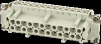 B24 Buchse 24-polig, Schraub, 500 V, 16 A 70MH-EB024-GS03020