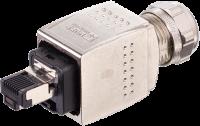 Push Pull RJ45 St. ger. Profinet 7000-74041-0000000