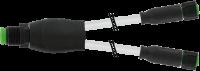 M12 Lite Y-Verteiler auf M12 Lite Bu. ger. 7005-40701-2230030