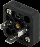 Ventilsteckersockel 18mm, 2+PE 7000-99201-0000000