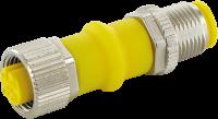 Adapter M12 St. / M12 Bu. gesch. AIDA 7030-42291-0000000