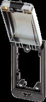 Modlink MSDD Einbaurahmen 1-fach metallic 4000-68513-0000003