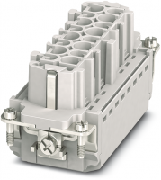 B16 Buchse 16-polig, Push-in, 500 V, 16 A 70MH-EB016-FP03020