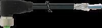 M12 Bu. gew. geschirmt mit freiem Ltg.-ende 7000-19361-7030300