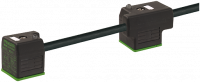 MSUD Doppelventilst. BF A 18mm m. Anschl.-ltg. 7000-58081-6270700