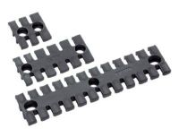 ZL 87/50 Zugentlastungsleiste, schwarz, DIN EN 45545-2 87701019