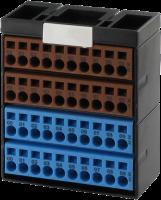 Potenzialklemmenblock braun blau 56109