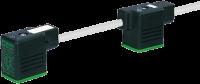 MSUD Doppelventilst. BF BI 11mm m.Anschl.-ltg. V2A 7002-58141-2170150