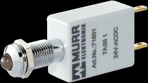 LED-Anzeige 230V AC/DC weiß