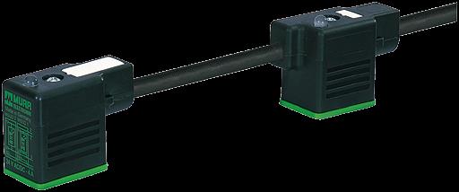 MSUD Doppelventilst. BF BI 11mm m. Anschl.-ltg.