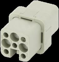 A3 Buchse 7-polig, Crimp, 250 V, 16 A 70MH-EB007-AC01020