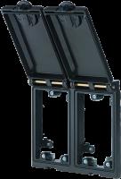 Modlink MSDD Einbaurahmen 2-fach Metall 4000-68122-0000000
