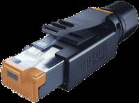 RJ45 Professional Stecker ger.8pol. geschirmt 7000-74011-0000000
