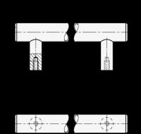 EDELSTAHL-ROHRGRIFF, DECKEL EDELSTAHL 666.5-30-M6-200-E