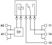 Phoenix PLC-RSC- 24UC/21 2966184 2966184