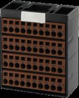 Cube20 Potenzialklemmenblock 4 x braun 56077