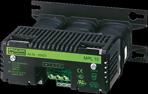 MPL Trafonetzgerät 3-phasig, gesiebt
