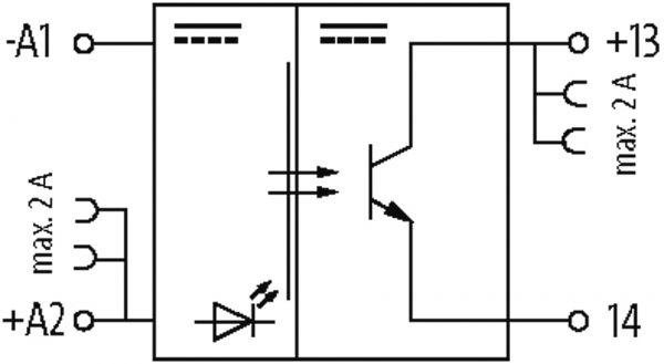 MIRO TR 5VDC FK Optokopplermodul