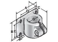 R-FKE 32 Flanschklemmstück einteilig, Metall 83952614