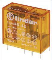 Finder 40.52.8.024.0000 Relais 8A 24VAC 405280240000