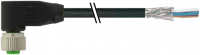 M12 Bu. gew. geschirmt mit freiem Ltg.-ende 7000-19361-7060300
