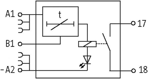 MIRO Multi-timer 24VDC-1S