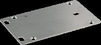 V2A-Bodenplatte MVP Metall 4-fach 996065