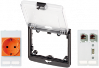 Modlink MSDD-Set: Einbaurahmen 4000-68522-0000003, 4000-68522-0140943
