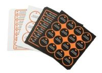 LA Laser Alu eloxiert 110x120mm silber Haftfolie 4x 2,6mm Materialstärke 8610100146