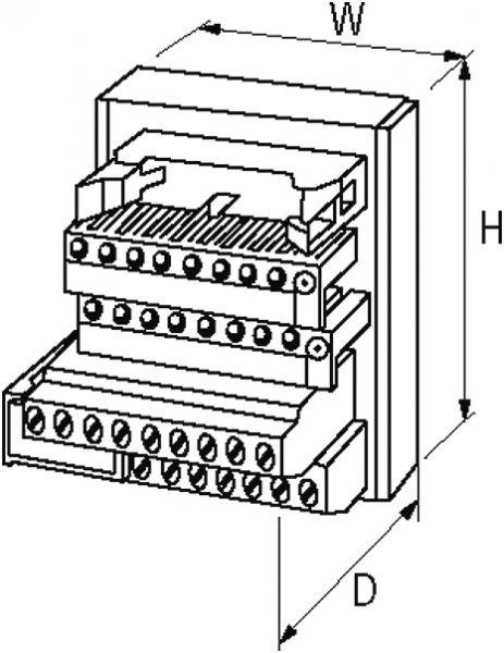 UFL 40 L Übergabebaustein