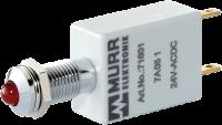LED-Anzeige rot 24VDC IP67 Lampentest 72701