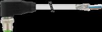M12 St. gew. geschirmt mit freiem Ltg.-ende 7000-17101-2941000